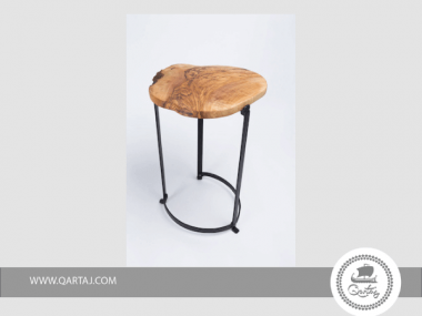 Table Metal and Olive Wood made in Tunisia