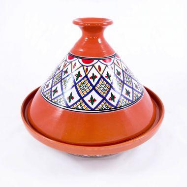 Tajine Handmade painted and decorated