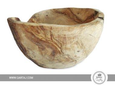Olive Wood Large Bowl Smooth