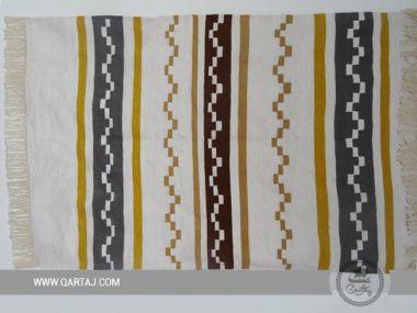 Hand-woven Kilim , Geometric Patterns