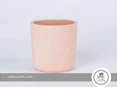 Terracotta Small Vase, Tunisian Ghozzi Pottery Tunisia