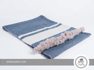 Throws hand-woven Silk and wool Kerkenatiss