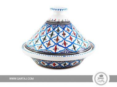 Tunisian cooking Blue and Black Tajine