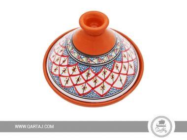 Decorated Tajine Tunisian Design Handmade