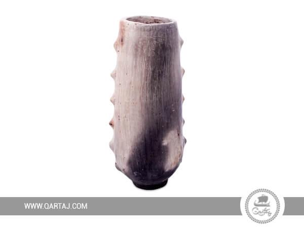 Handmade flower pot of Sajnen - Tunisian Pottery