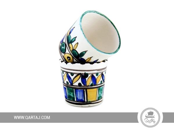 Tea & Coffee Ceramic Nabeul hand painted Mugs/Cups