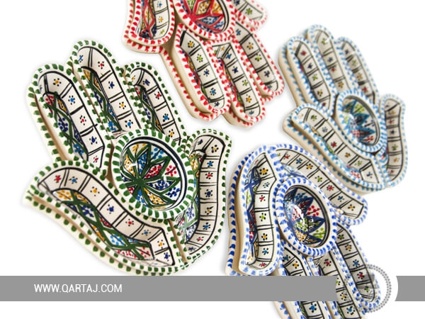 Original Khomsa Ceramic Aperitif Service