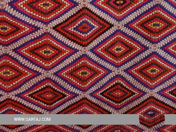 Handmade Cotton carpet from Toujane