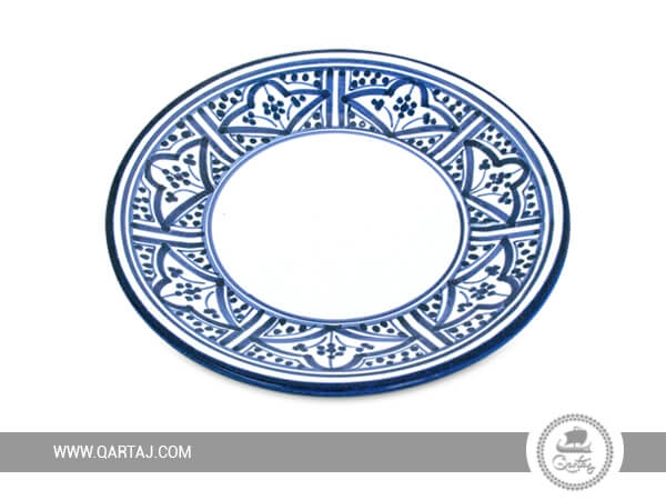 Ceramic Plate for service table collection, kitchenware for stores