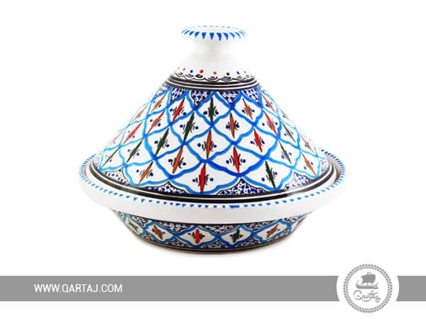 Tunisian cooking Blue and Black Tajine