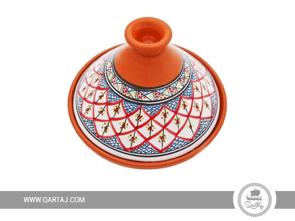 Decorated Tajine Tunisian Design Handmade