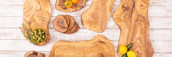 Luxury handmade olive wood products : Quality is first - UNIQUE olive wood products