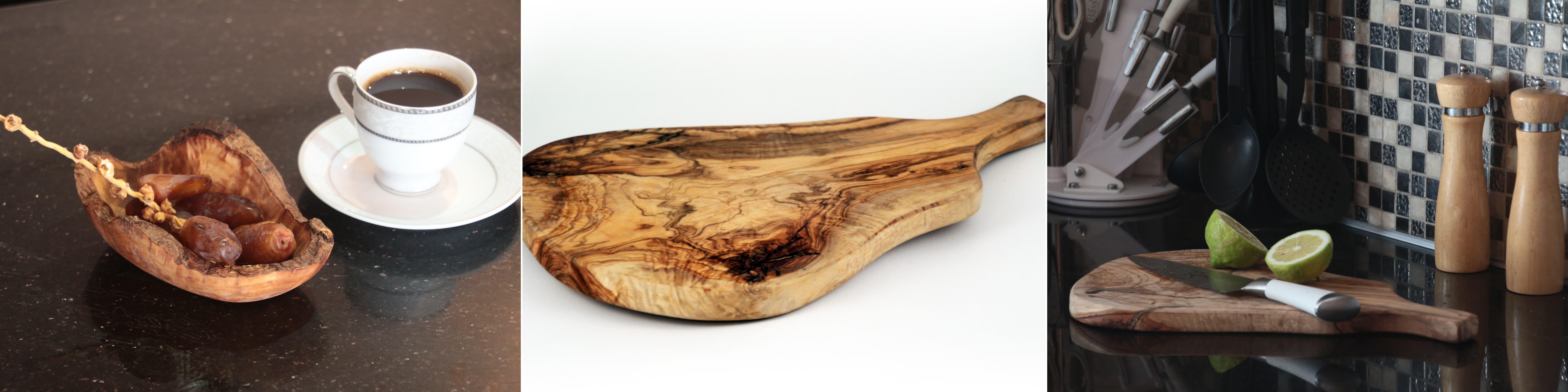 Olive wood Kitchenware Products from Tunisia by Qartaj